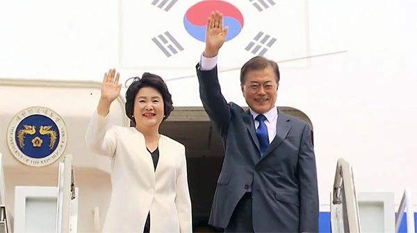 '조선', 문재인 정상외교에 재 뿌리다